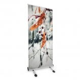 Outdoor roll up banner